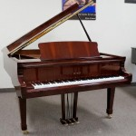 Petrof Model III Mahogany Polish Grand Piano
