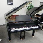 ESTONIA 190 GRAND PIANO EBONY SATIN