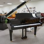 EVERETT BABY GRAND BLACK POLISH