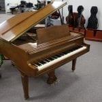 Knabe Grand Piano – Walnut Satin