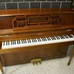 Yamaha Deluxe Console Piano