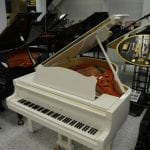 Schimmel 180 Grand Piano – White Polish