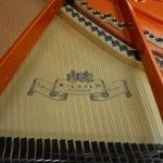 Schimmel Wilhelm 180 Grand Piano White Polish in