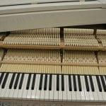 Schimmel Wilhelm 180 Grand Piano White Polish keys