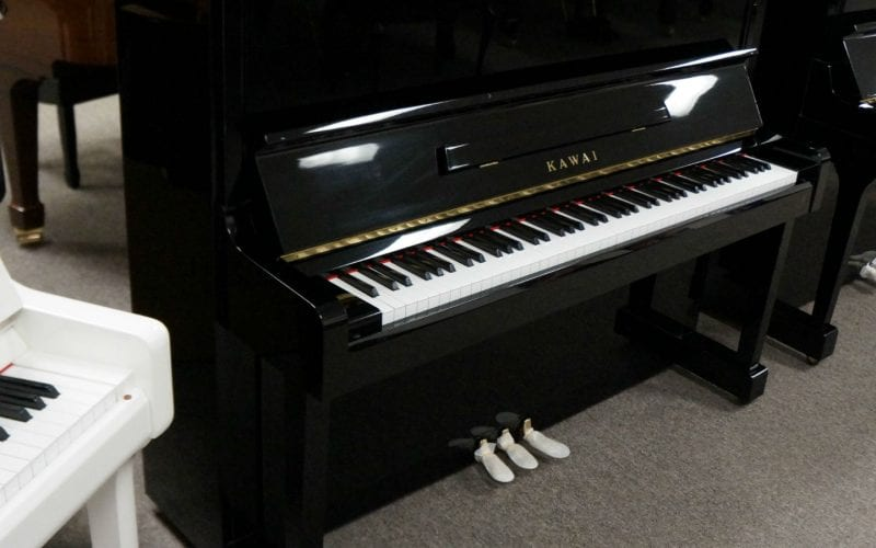 Kawai KS1F Upright side