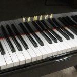 Yamaha C5 Grand Piano keys