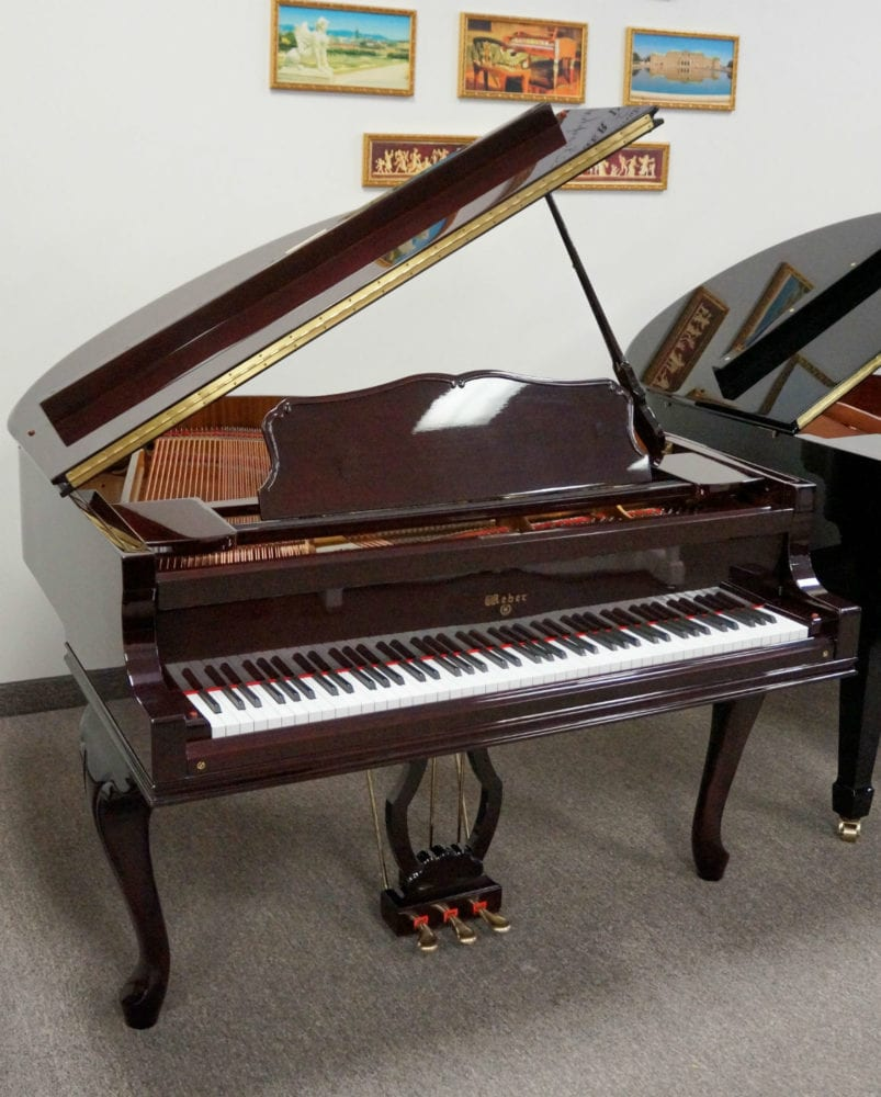 Weber WG50 Cherry Grand Piano