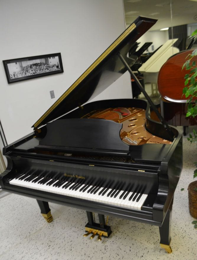 Mason & Hamlin BB Grand Piano Ebony Satin