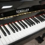 Frankfurt 47 Upright Piano Black keys