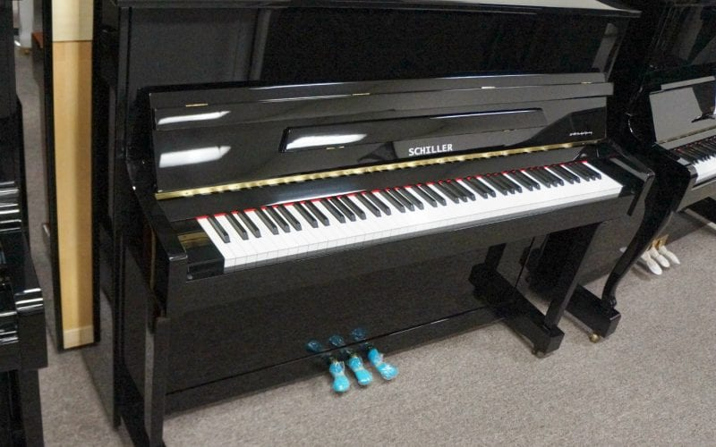 Frankfurt 47 Upright Piano Black