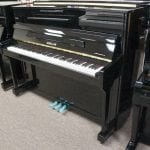 Frankfurt 47 Upright Piano Black right