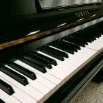 Yamaha U3 M keys