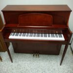 Yamaha 450 Model Console Piano – Hallmark Cherry Finish