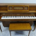 Yamaha Decorator Console Piano w/Disklavier Player Oak