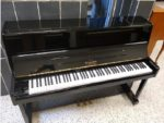 George Steck Professional Upright Piano Black Polish