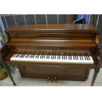 Yamaha Upright Piano Dark Satin Oak