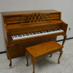 Young Chang Decorator Console Piano