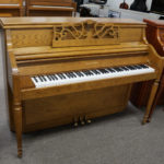 Charles Walter Professional Upright Console Piano