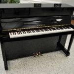 Kawai CX10 Professional Upright Piano Black Polish