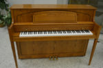 Yamaha Decorator Upright Piano Oak Finish