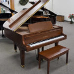 Kawai GE1 Grand Piano Walnut Satin