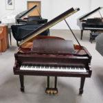 Cristofori Grand Piano Cherry Mahogany Finish