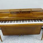 Wurlitzer Upright Piano – Warm Walnut Satin Finish